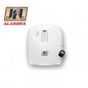 Central de Alarme 8 Zonas e Discadora Gsm Brisa Cell 804 Jfl
