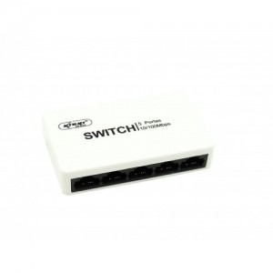 Switch 5 portas 10/100mbps - RTS