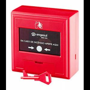 Acionador Manual Convencional Amc 320 - Intelbras