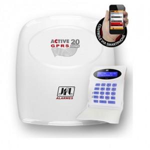 Central de Alarme Monitorável Active-20 GPRS (modular) - JFL