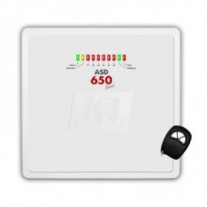 Central de Alarme ASD 650 Sinal 6 Zonas C/ Discadora JFL