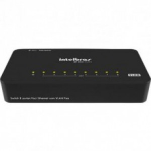 SWITCH DESKTOP 8 PORTAS POE SF 800VLAN