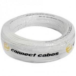 Cabo Coaxial Trançado 4mm 60% Malha Slim Connect Cabos - 50 Metros