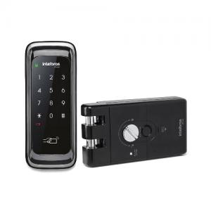 FR 210 Fechadura digital para portas de correr Intelbras