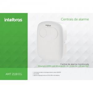 Central de Alarme Monitorada AMT 2118 EG Intelbras