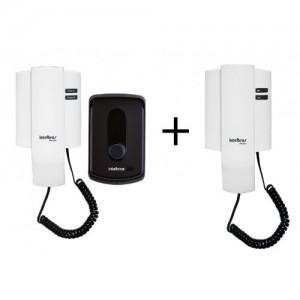 Kit Porteiro Eletrônico Residencial IPR 8010 + Módulo Interno