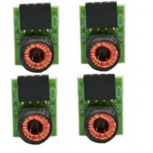 Balun Híbrido Conversor Rack 4 Unidades - MAX