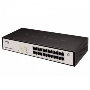 Switch 24 Portas SG 2400 QR - Intelbras