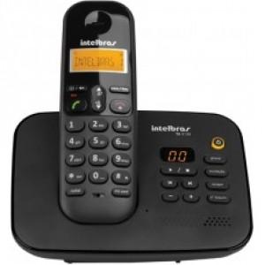 Telefone S/fio Ts3130 Preto Secretaria Eletronica - Intelbras