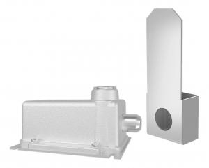 Trava eletromagnética 220V Cinza C/ Modulo - AGL