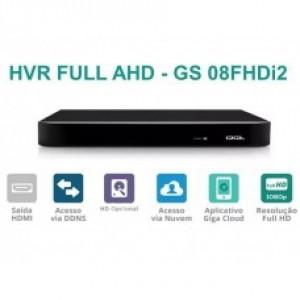 DVR 8 Canais Full HD 1080P GS08FHDI2 - Giga Security